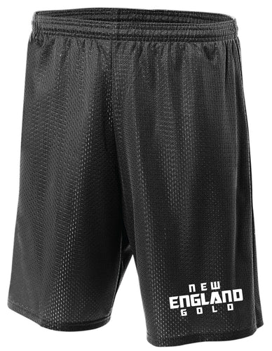 New England Gold Wrestling Tech Shorts - 5KounT2018