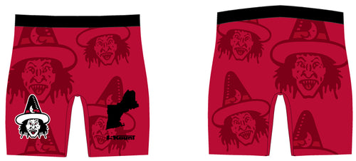 Ugly Witches Wrestling Sublimated Compression Shorts - 5KounT