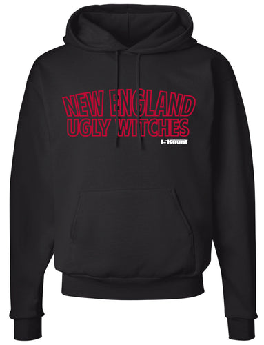 Ugly Witches Wrestling Cotton Hoodie - 5KounT