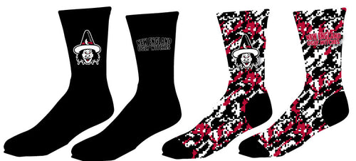 Ugly Witches Wrestling Sublimated Socks - 5KounT