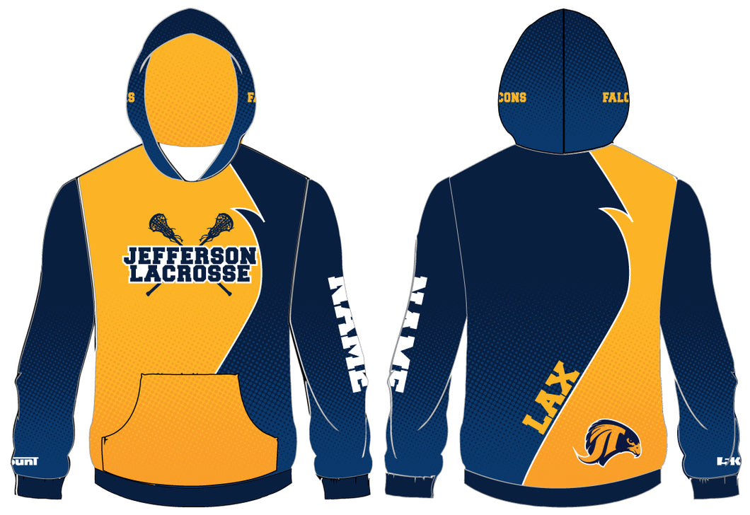 Jefferson LAX - Sublimated Hoodie 2018 - 5KounT