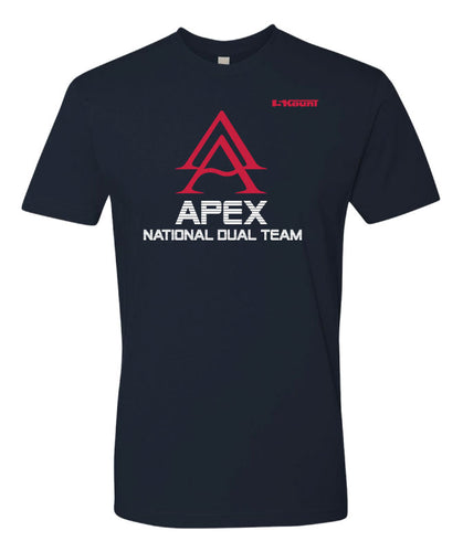 APEX National Team Cotton Tee - Navy
