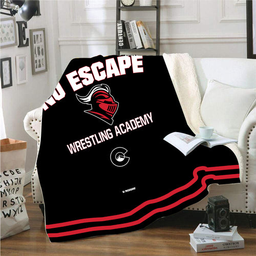 No Escape Academy Sublimated Blanket - 5KounT2018