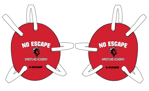 No Escape Wrestling Academy Wrestling Headgear - Red/Black - 5KounT2018