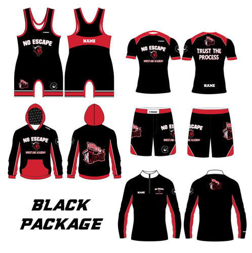 No Escape Wrestling Academy Black Package - 5KounT2018