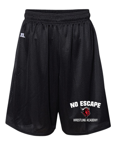 No Escape Wrestling Academy Russell Athletic  Tech Shorts - Black - 5KounT2018