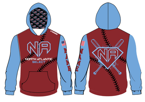 North Atlantic Select Baseball Sublimated Hoodie - 5KounT2018