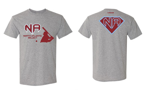 North Atlantic Select Baseball Triblend Tee - Gray - 5KounT2018