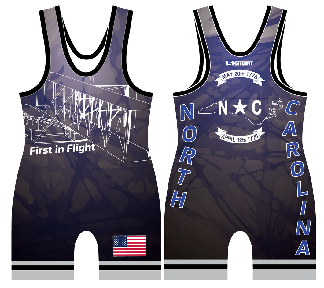 STATE - North Carolina Singlet