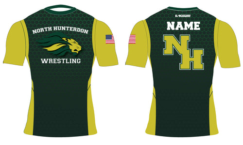 North Hunterdon Wrestling Sublimated Compression Shirt
