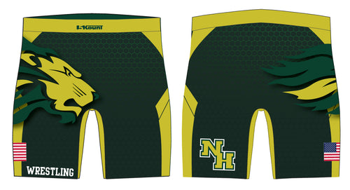 North Hunterdon Wrestling Sublimated Compression Shorts