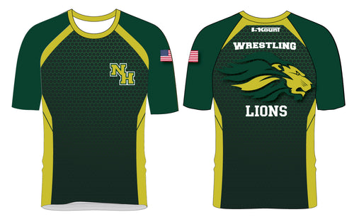 North Hunterdon Wrestling Sublimated Fight Shirt