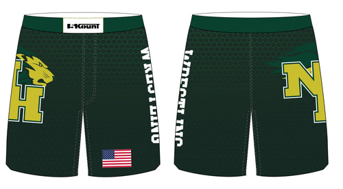 North Hunterdon Wrestling Sublimated Fight Shorts