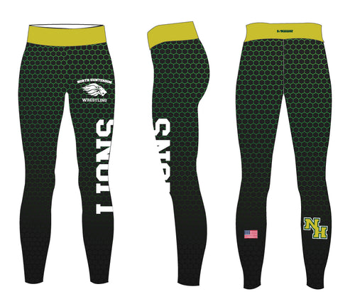 North Hunterdon Wrestling Sublimated Ladies Legging