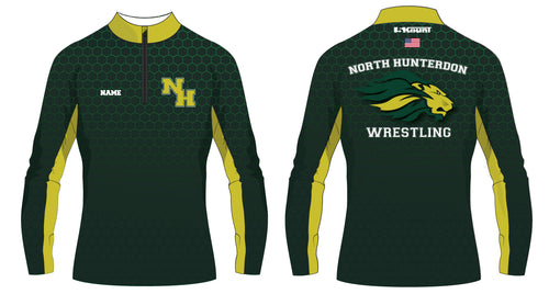 North Hunterdon Wrestling Sublimated Quarter Zip