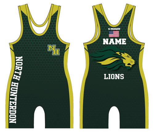 North Hunterdon Wrestling Sublimated Singlet