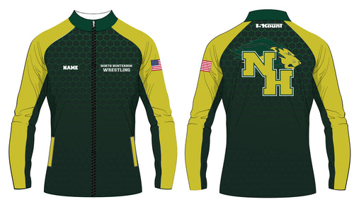 North Hunterdon Wrestling Sublimated Warmup Jacket