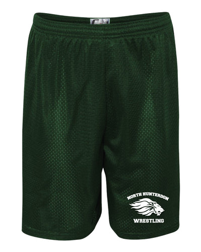 North Hunterdon Wrestling Tech Shorts - Forest