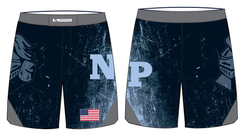 North Penn Wrestling Sublimated Fight Shorts - 5KounT2018