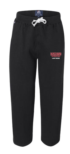 NHJW Match Day Sweatpants Only - Black