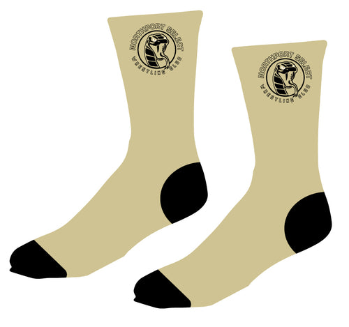Northport Select Wrestling Club Sublimated Socks - 5KounT2018