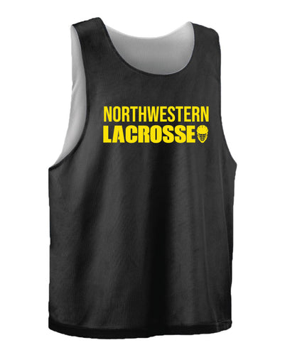 Northwestern Lacrosse Practice Pinnie - Black