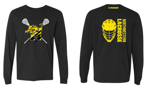 Northwestern Lacrosse Cotton Long Sleeve