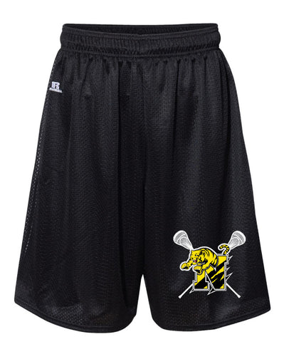 Northwestern Lacrosse Russell AthleticTech Shorts Black - 5KounT2018