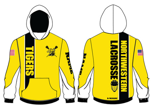 Northwestern Lacrosse Sublimated Hoodie - 5KounT2018