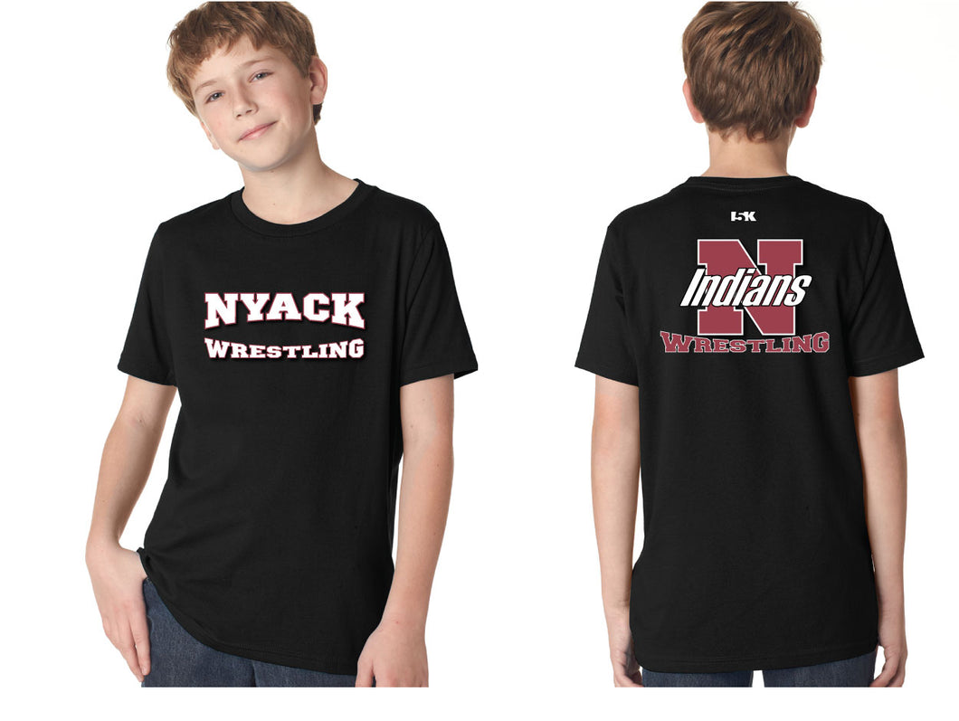 NYACK Wrestling Cotton Tee