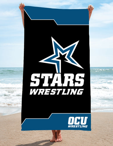 OCU Sublimated Beach Towel