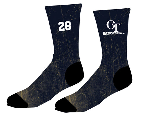 OT Basketball Sublimated Socks - 5KounT2018