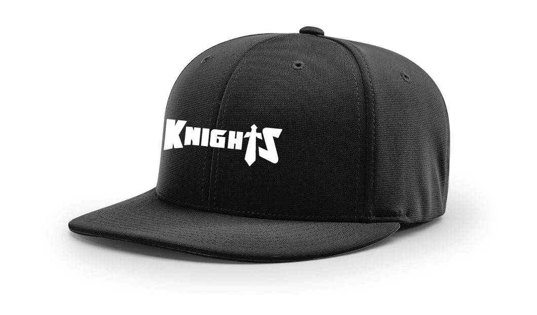Oakleaf Knights Club FlexFit Cap - Black