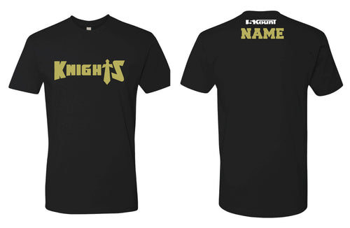 Oakleaf Knights Club Cotton Crew Tee - Black - 5KounT2018