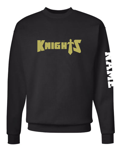 Oakleaf Knights Club Crewneck Sweatshirt - Black - 5KounT2018