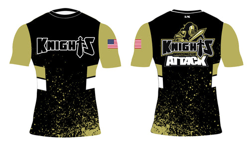 Oakleaf Knights Club Sublimated Compression Shirt - 5KounT2018