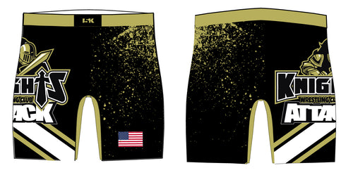 Oakleaf Knights Club Sublimated Compression Shorts - 5KounT2018