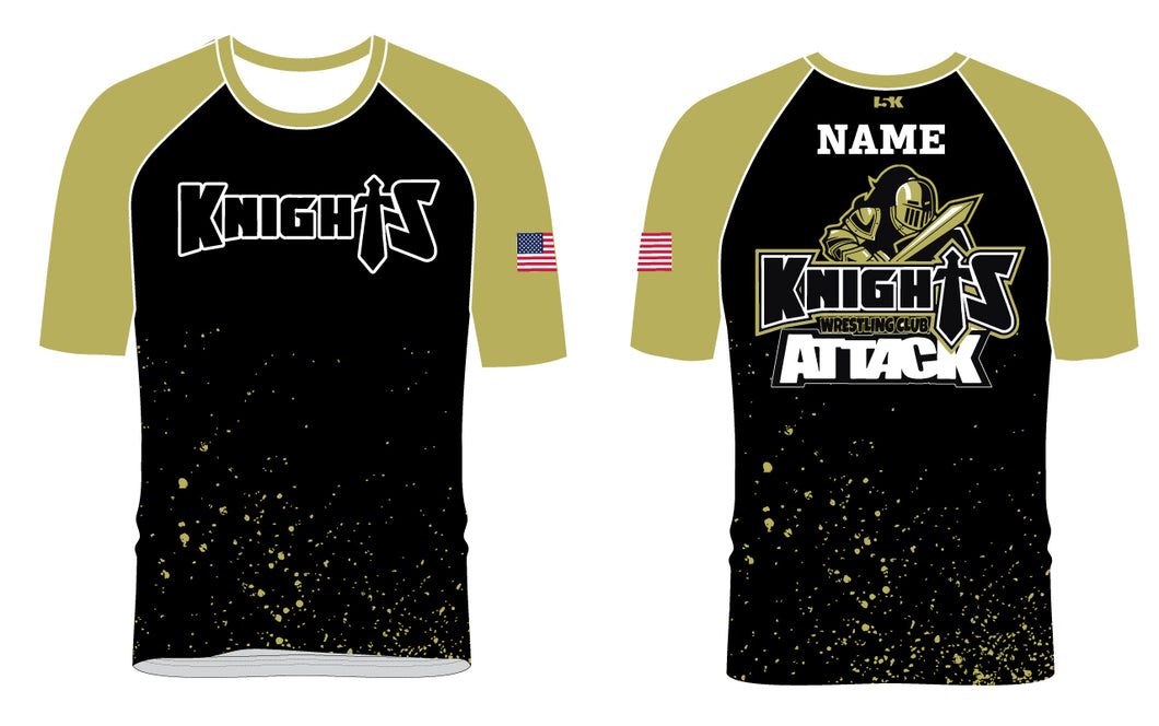 Oakleaf Knights Club Sublimated Fight Shirt - 5KounT