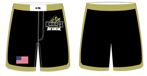 Oakleaf Knights Club Sublimated Fight Shorts - 5KounT2018