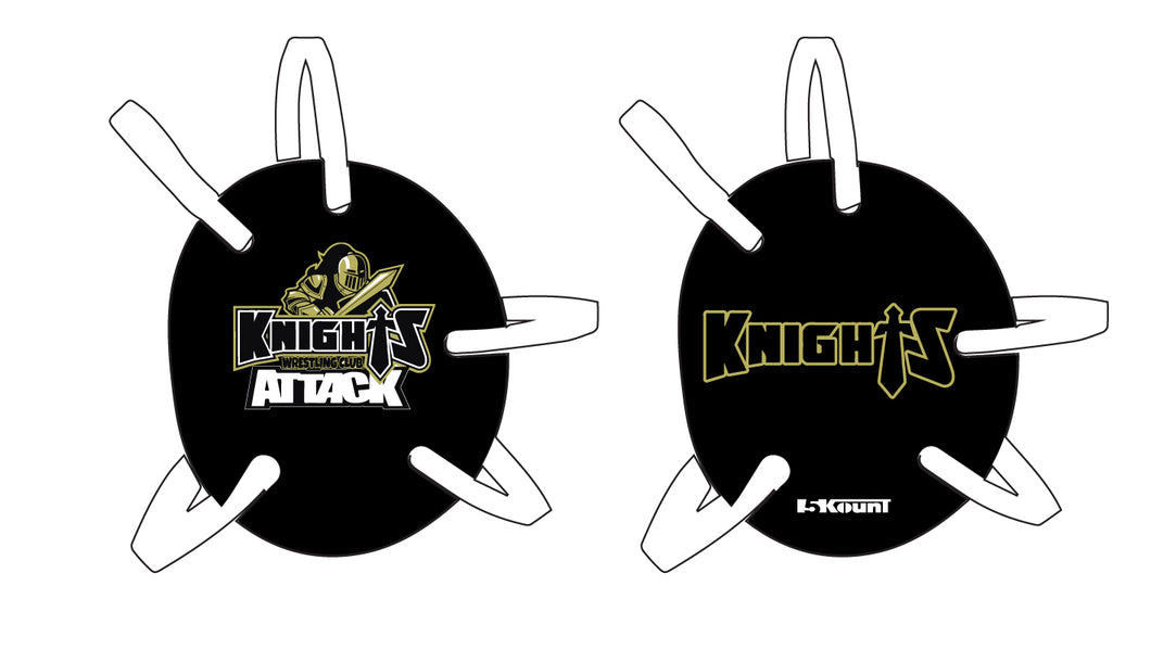 Oakleaf Knights Club Wrestling Headgear Decal