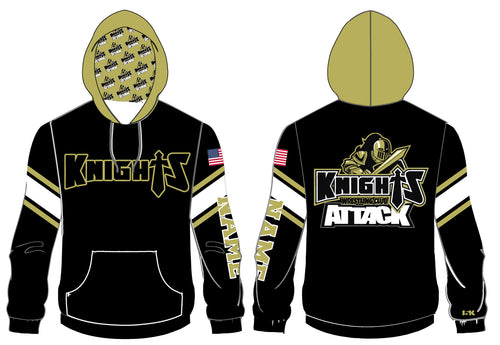 Oakleaf Knights Club Sublimated Hoodie - 5KounT2018
