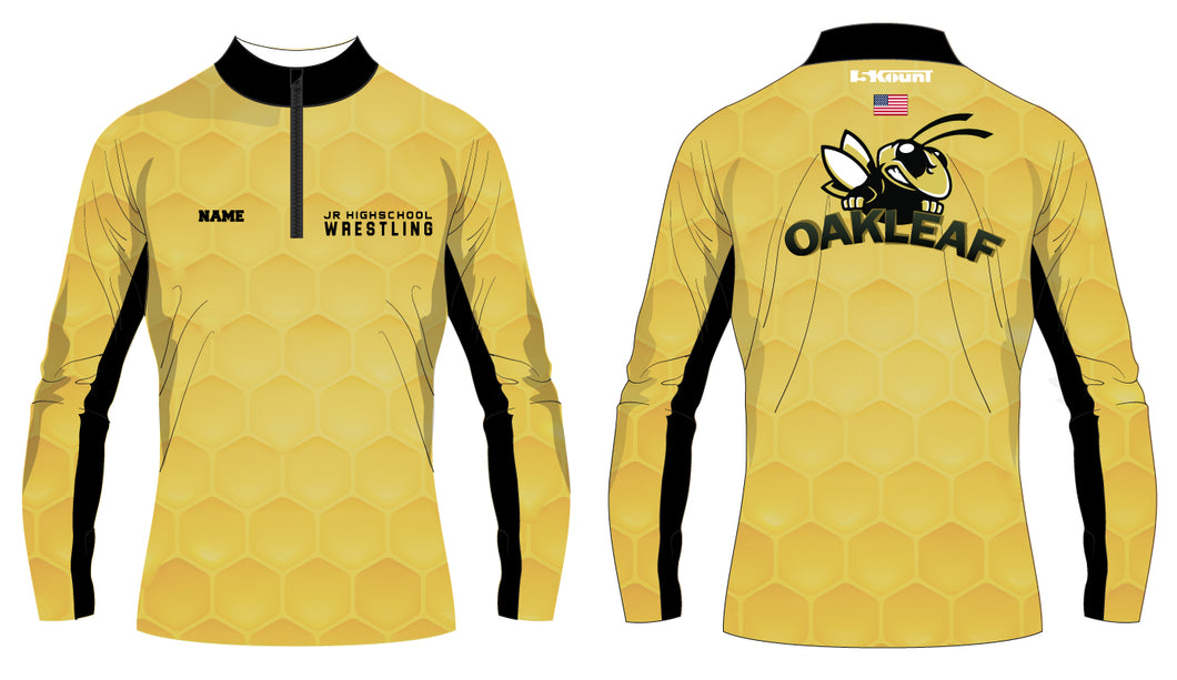 Oakleaf Knight JHS Sublimated Quarter Zip - 5KounT2018