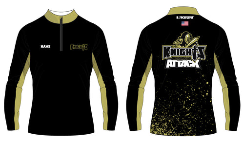 Oakleaf Knights Club Sublimated Quarter Zip - 5KounT2018