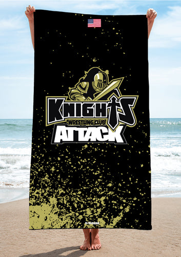 Oakleaf Knights Club Sublimated Beach Towel - 5KounT2018