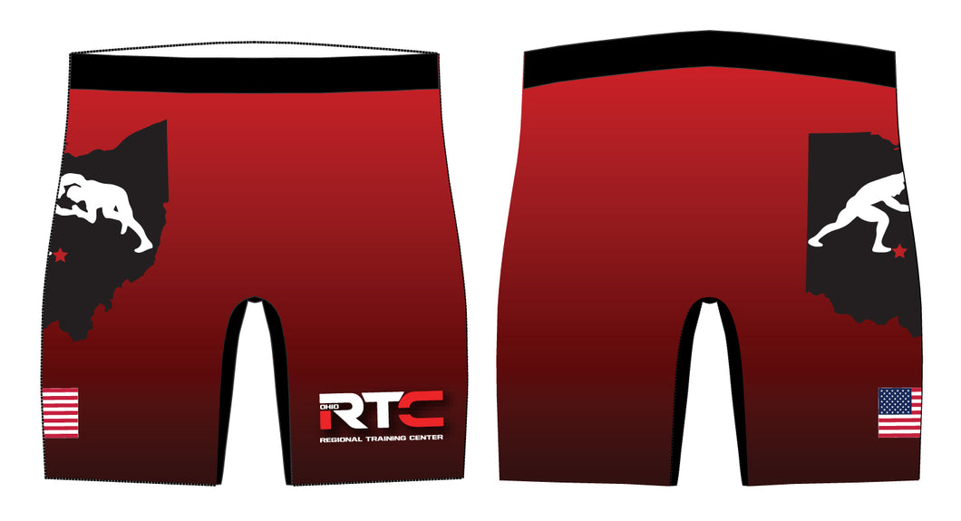 Ohio Regional Training Center Sublimated Compression Shorts - 5KounT2018