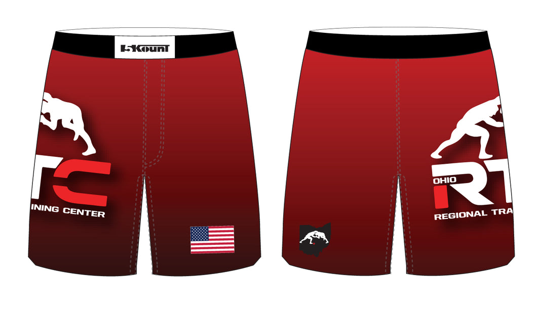 Ohio Regional Training Center Sublimated Fight Shorts - 5KounT2018