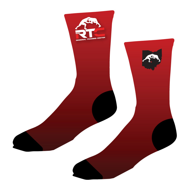 Ohio Regional Training Center Sublimated Socks - 5KounT2018