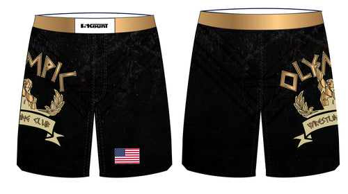 OWC Sublimated Fight Shorts - 5KounT2018