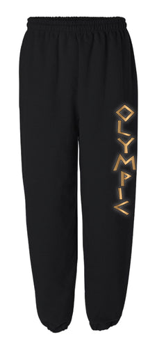 OWC Cotton Sweatpants - Black - 5KounT2018