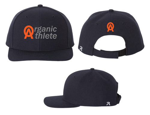 Organic Athlete Adjustable Baseball Cap - Navy